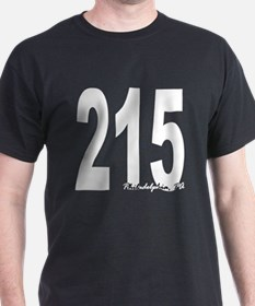 215 Philadelphia Area Code T-Shirt