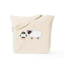 Yaya and Scottish Blackface Tote Bag