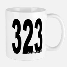 323 Los Angeles Area Code Mug