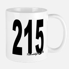 215 Philadelphia Area Code Mug