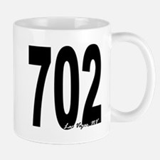 702 Las Vegas Area Code Mug