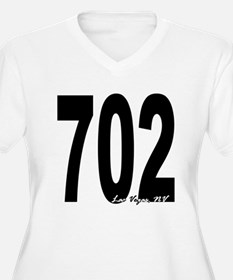 702 Las Vegas Area Code Plus Size T-Shirt