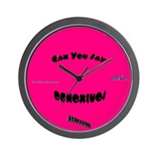 Obnoxious Wall Clock