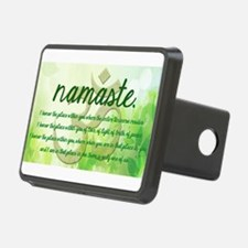 Namaste Greeting Hitch Cover