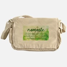 Namaste Greeting Messenger Bag