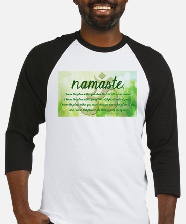 Namaste Greeting Baseball Jersey