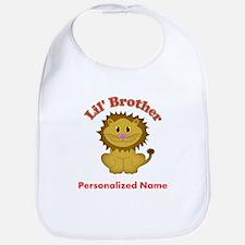 Little Brother Lion Bib