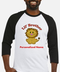 Little Brother Lion Baseball Jersey