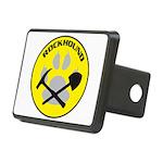 Rectangular Rockhound Hitch Cover