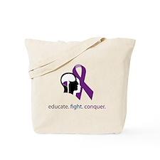 edu.fight.conquer Tote Bag