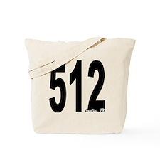 512 Austin Area Code Tote Bag
