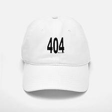 404 Atlanta Area Code Baseball Baseball Baseball Cap