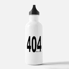 404 Atlanta Area Code Water Bottle