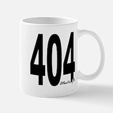 404 Atlanta Area Code Mug