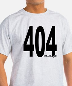 404 Atlanta Area Code T-Shirt