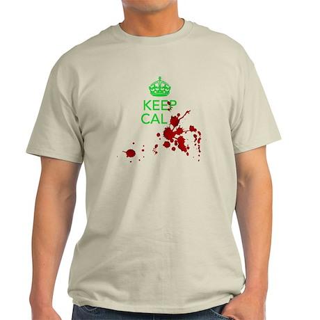 Keep Calm - Zombies - GREEN T-Shirt