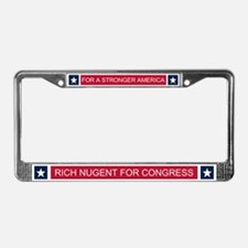 Elect Rich Nugent License Plate Frame