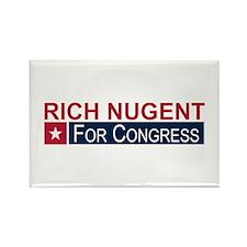 Elect Rich Nugent Rectangle Magnet
