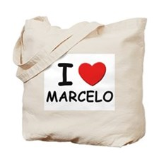 I love Marcelo Tote Bag