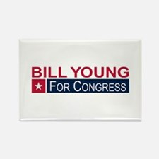 Elect Bill Young Rectangle Magnet