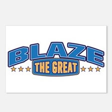 The Great Blaze Postcards (Package of 8)