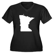 State of Minnesota Plus Size T-Shirt