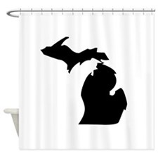 State of Michigan Shower Curtain