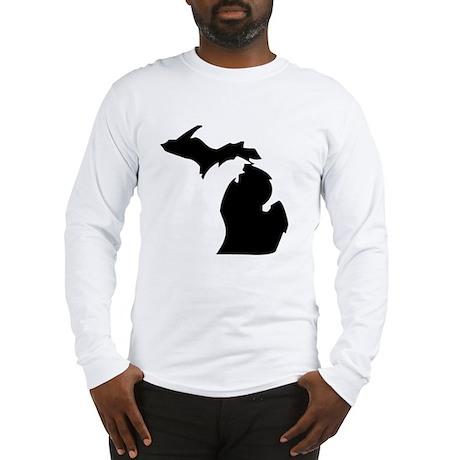 State of Michigan Long Sleeve T-Shirt