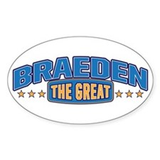 The Great Braeden Decal