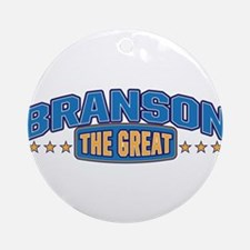 The Great Branson Ornament (Round)