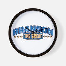 The Great Branson Wall Clock