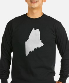 State of Maine Long Sleeve T-Shirt