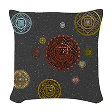 The Zodiac Woven Throw Pillow