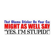 Cute Redneck Car Magnet 10 x 3