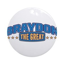 The Great Braydon Ornament (Round)