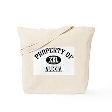 Property of Alexia Tote Bag