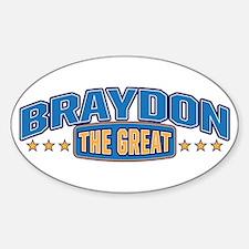 The Great Braydon Decal