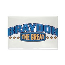 The Great Braydon Rectangle Magnet (100 pack)
