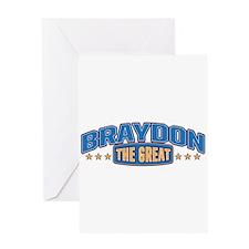 The Great Braydon Greeting Card