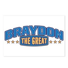 The Great Braydon Postcards (Package of 8)