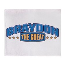 The Great Braydon Throw Blanket