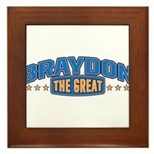 The Great Braydon Framed Tile