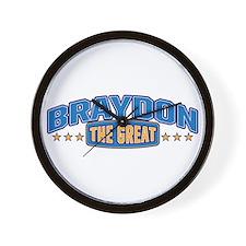 The Great Braydon Wall Clock