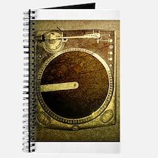 Grunge Dj Turntable Journal