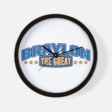 The Great Braylon Wall Clock