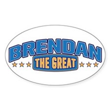 The Great Brendan Decal