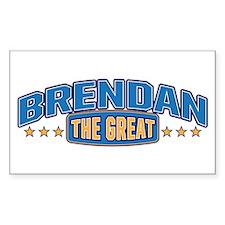 The Great Brendan Decal