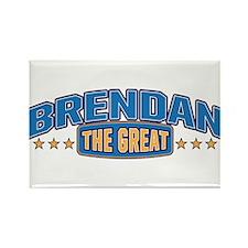The Great Brendan Rectangle Magnet