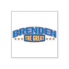 The Great Brenden Sticker
