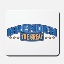 The Great Brenden Mousepad